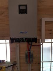 5th inverter installed