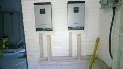 Power room taking shape 1
