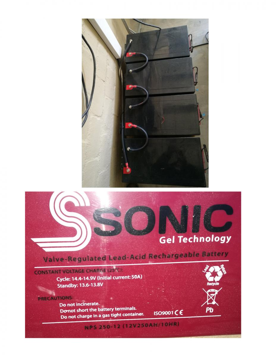 4xnps250-12 agm sonic batteries