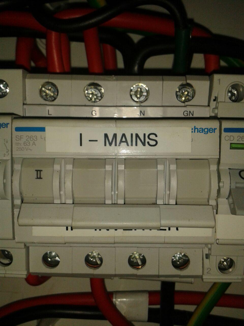 Din Rail Changeover Switches Accessories Power Forum Renewable 2 Way Switch Hager63achangeover