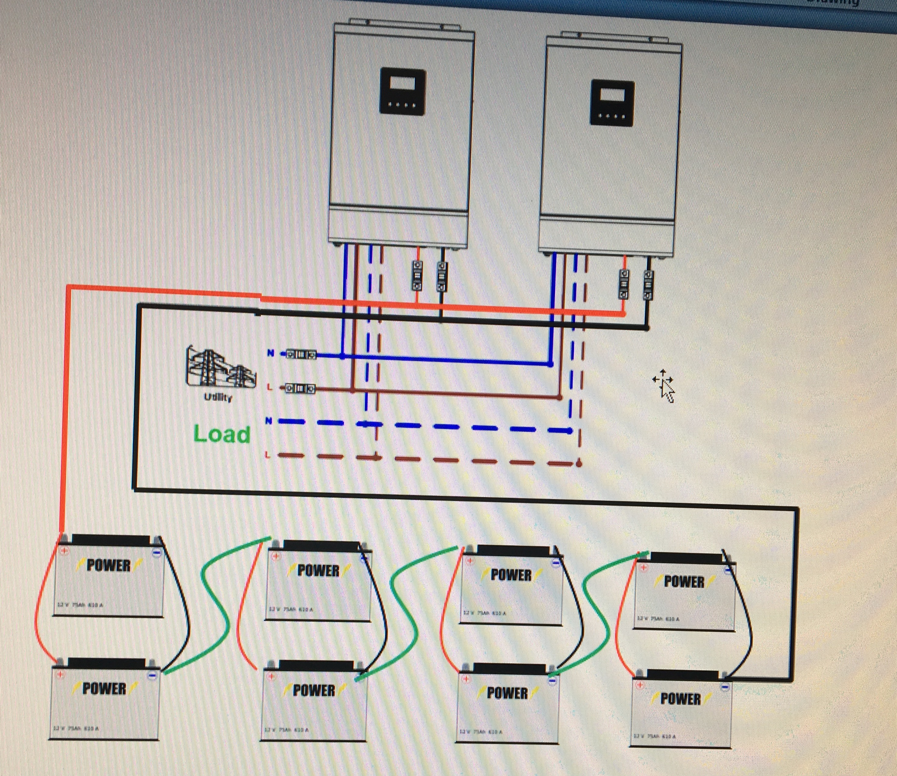 Correct Battery Setup For 2x 48v Banks Page 2 Solar Power Power Forum Renewable Energy Discussion