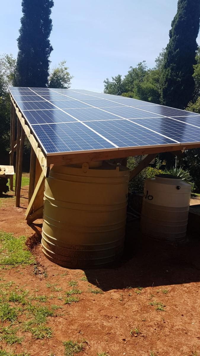 Solar Pergola at Swazi Str